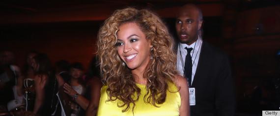 Beyonce Bangs