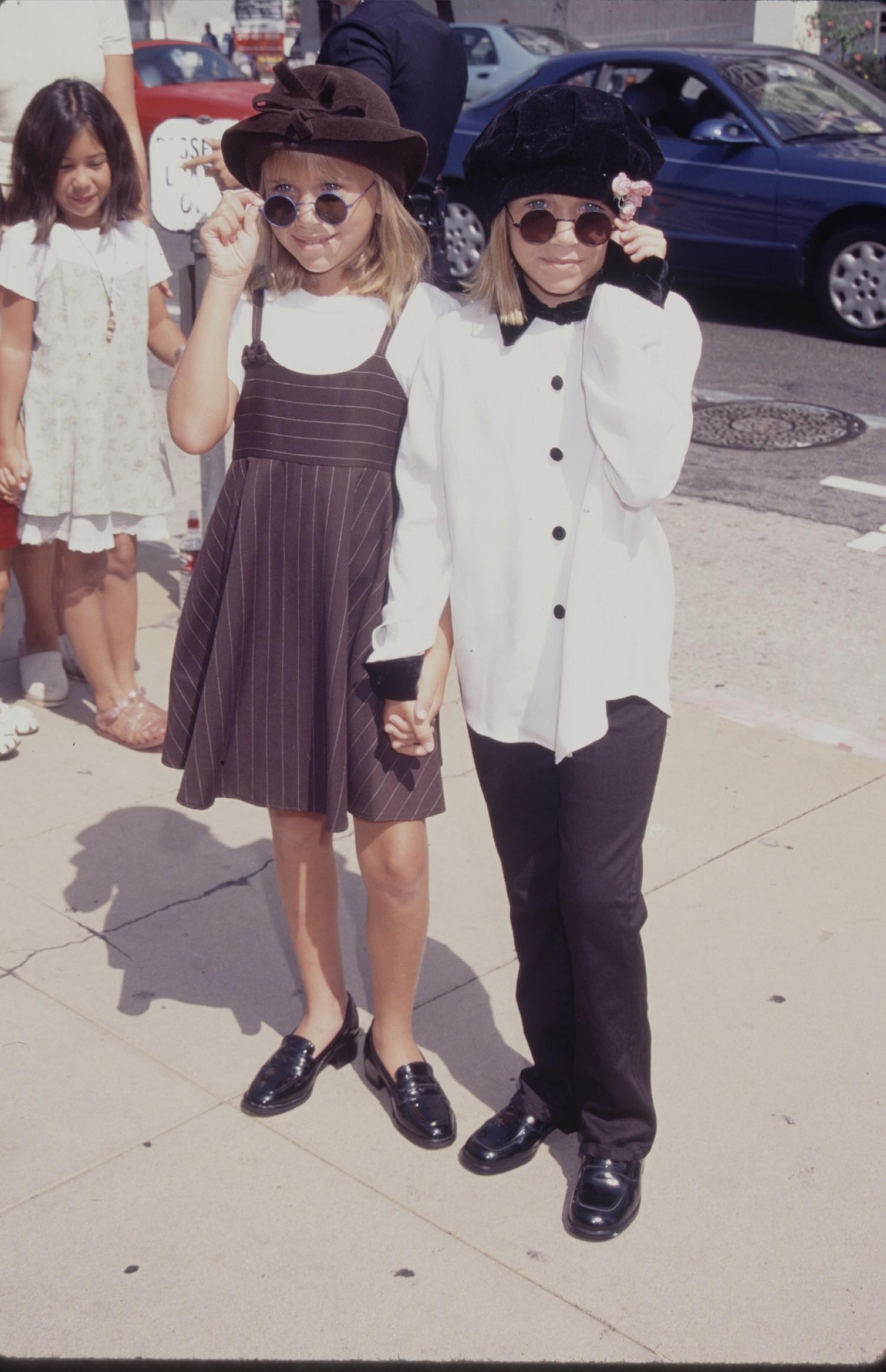The Olsen Twins Channel John Lennon Photo Huffpost