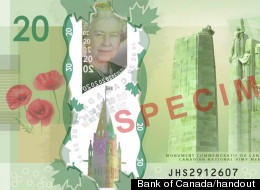new plastic bill canada