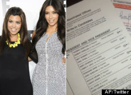 Kim & Kourtney Kardashian Encourage Everyone To Go Vote
