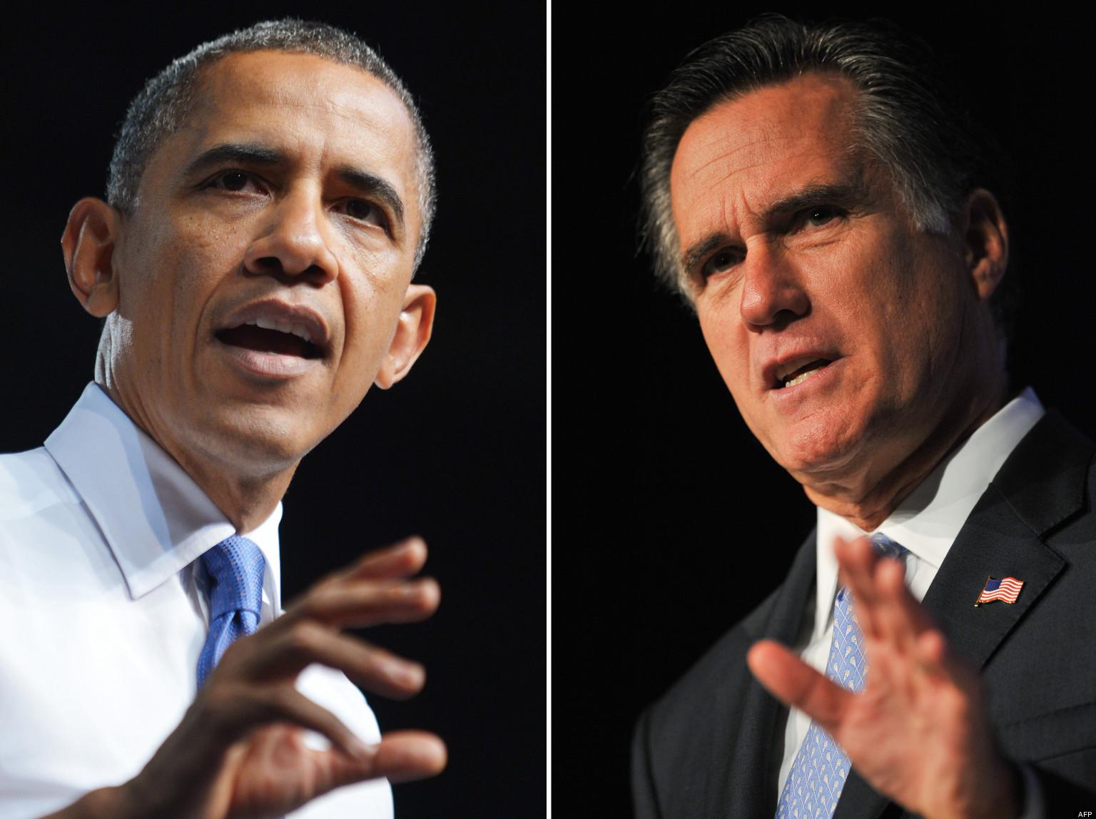 Rencontre obama romney