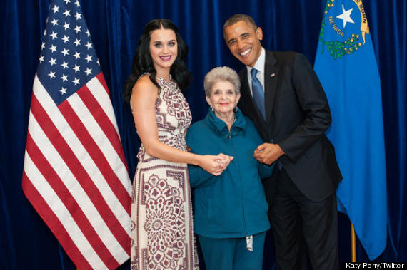 katy perry president obama