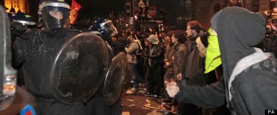 LIAM BURNS NUS PROTEST