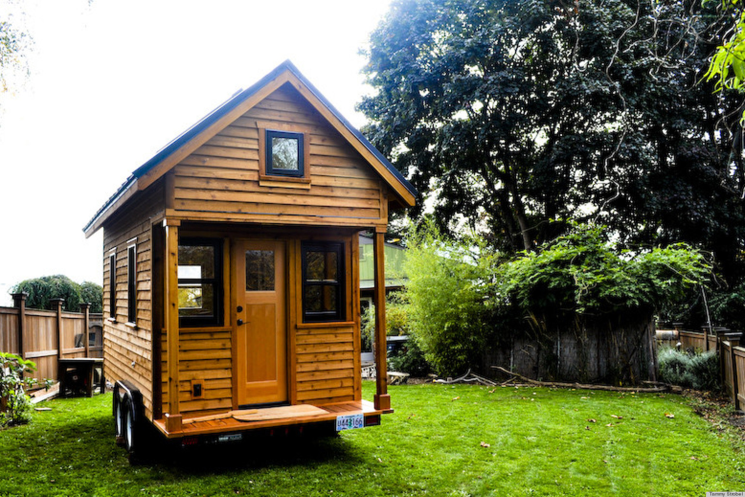 House tour author and blogger tammy strobel shares her Tiny little houses on wheels