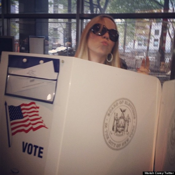 mariah carey votes