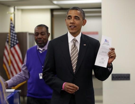 vote 2012 barack obama