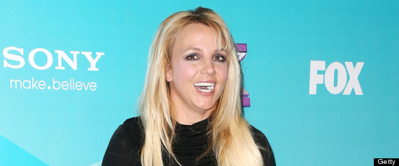 Britney Spears Chewing Gum