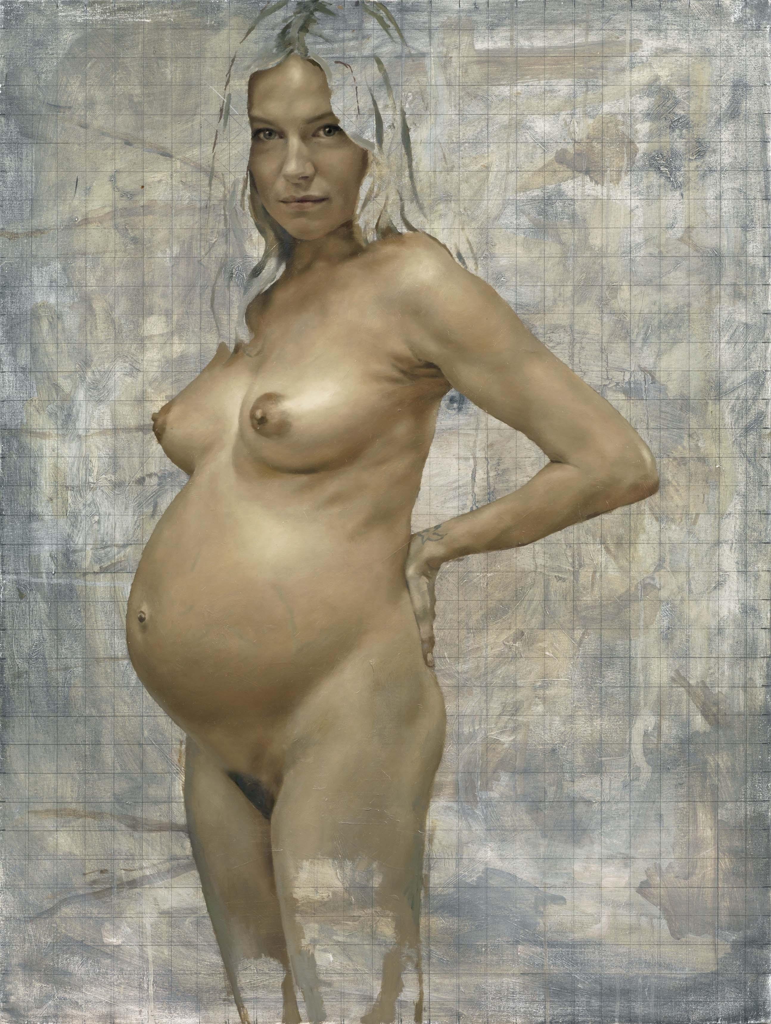 Я голая и беременная на 6 месяце 12 фотография