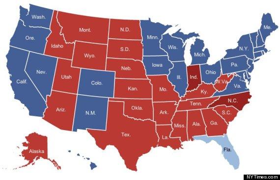 mapa electoral eeuu 2012