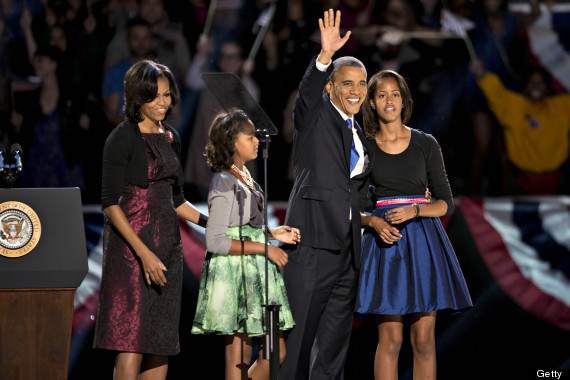 malia and sasha obama election night