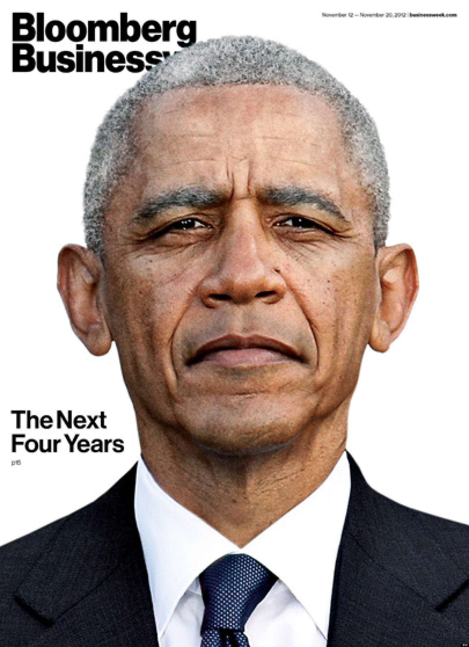 Businessweek Shows Aged Obama On Next Cover (PHOTO)