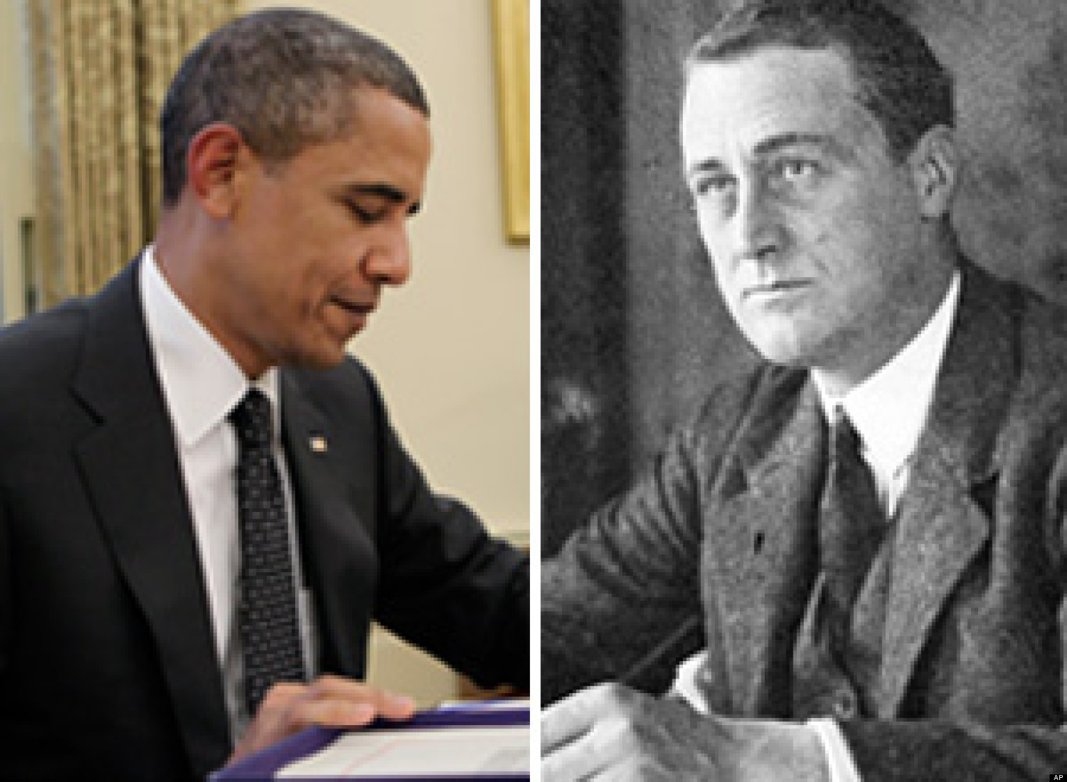 "franklin d. roosevelt and barack obama essay Faced with the great depression and world war ii, franklin d roosevelt,  nicknamed ""fdr,"" guided america through its greatest domestic crisis, with the."