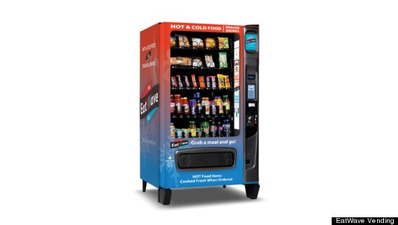 microwave vending machine