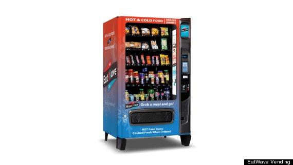 microwave vending machine