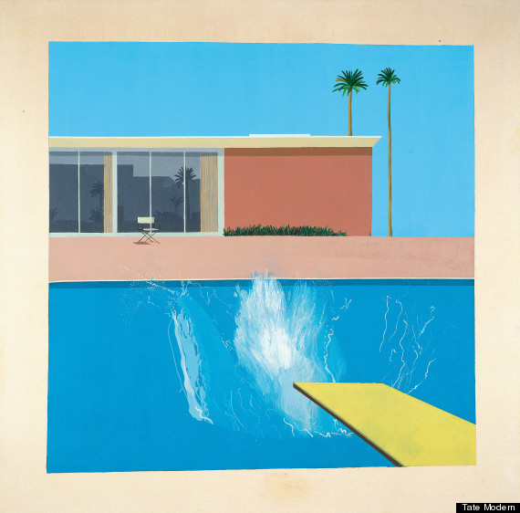 tate painting hockney