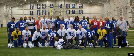 COLTS SHAVE HEADS