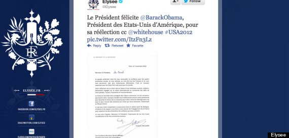 hollande tweet