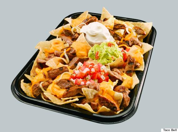 taco bell xxl nachos