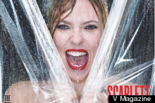 Scarlett Johansson Has A Psycho Moment For V Magazine