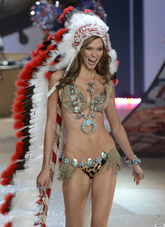 Karlie Kloss Wears Native American Headdress At Victorias Secret Fashion Show PHOTOS POLL