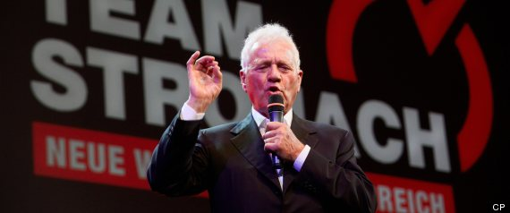 FRANK STRONACH RESIGNS QUITS