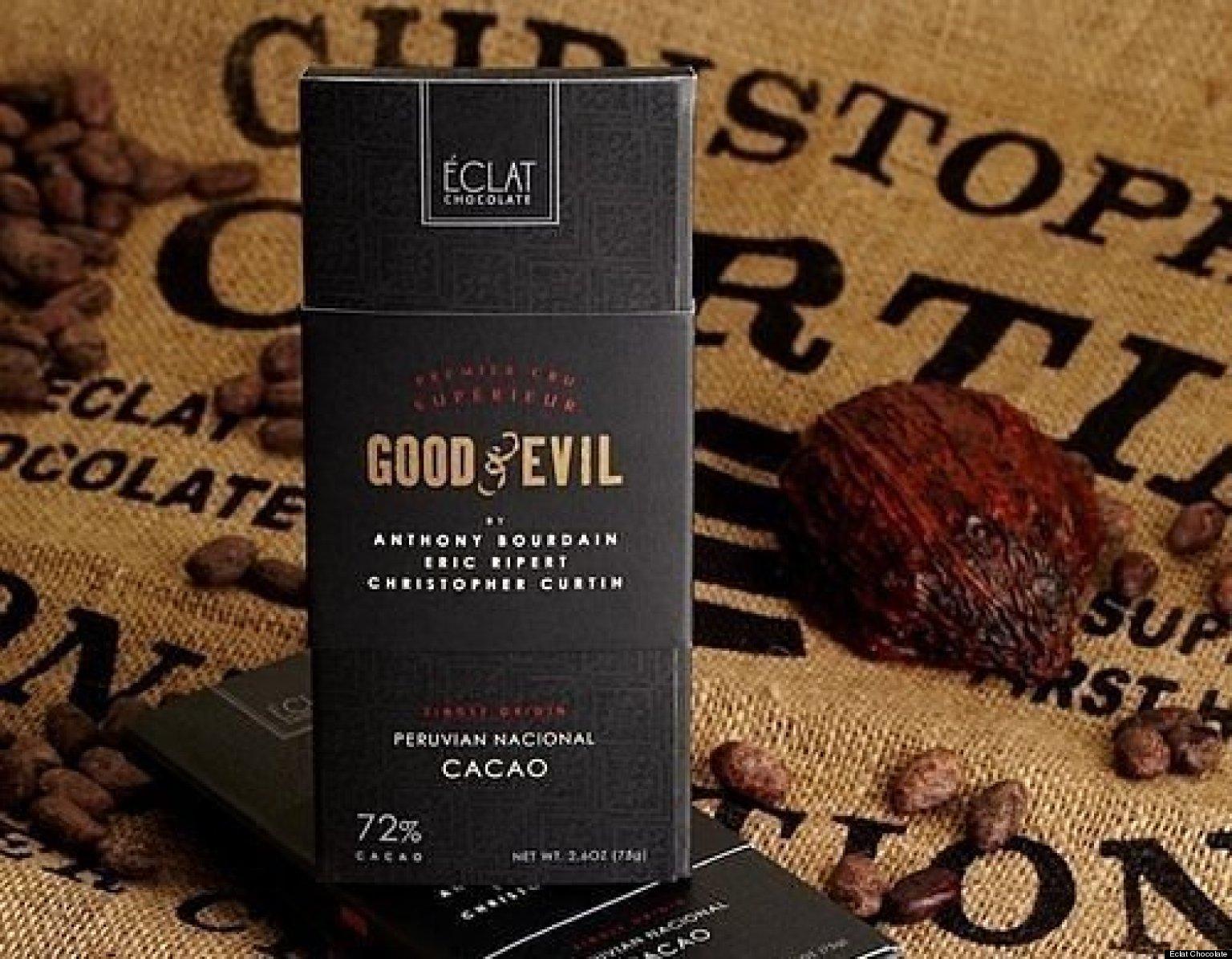 Anthony Bourdain And Eric Ripert's Chocolate Bar, Good & Evil, To ...