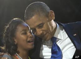 WATCH: Sasha Obama's Friendly Reminder For Her Dad