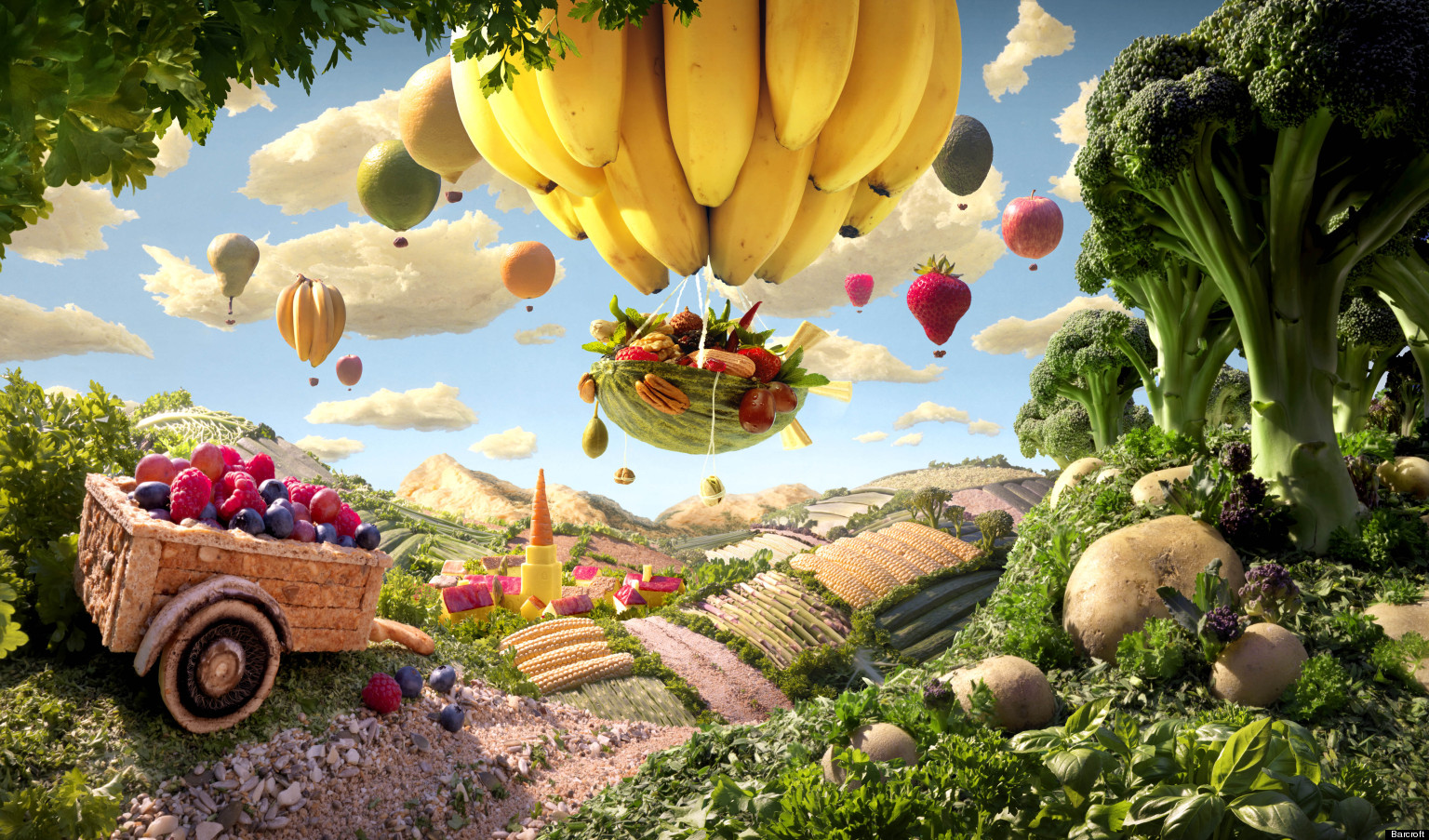 Carl warner foodscape photographer is the 39 willy wonka for World good images