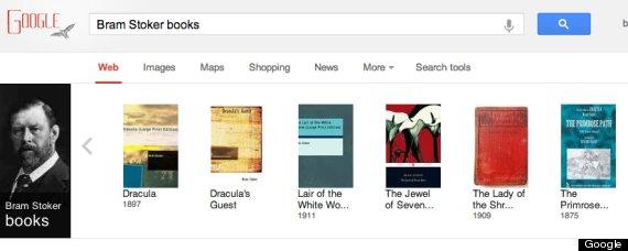 bram stoker google