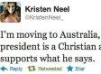 Anti-Obama Teen Kristen Neel's Tweet About Moving To Australia Triggers Heated Twitter Backlash