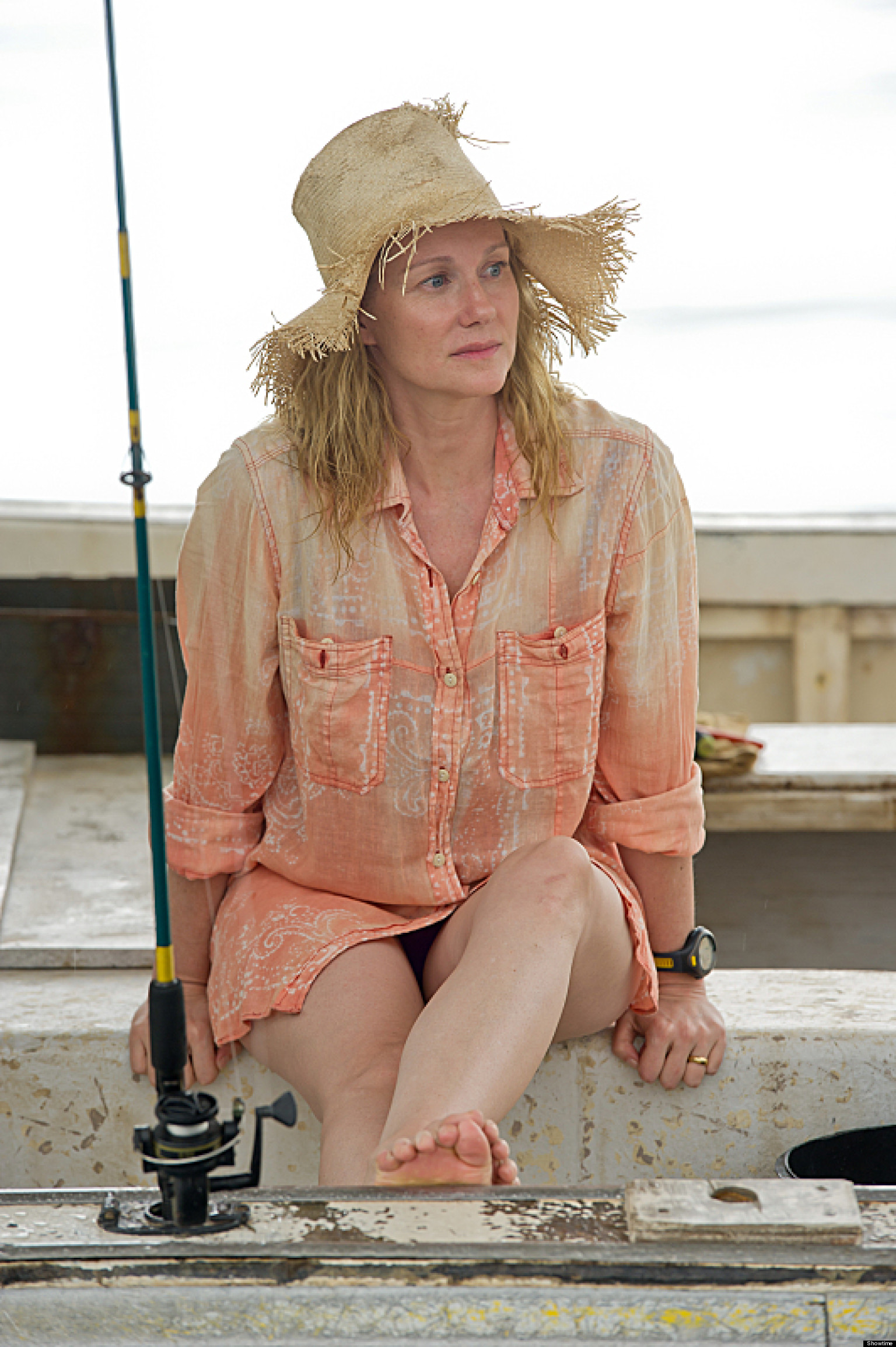 What makes laura linney act it s the story stupid the huffington