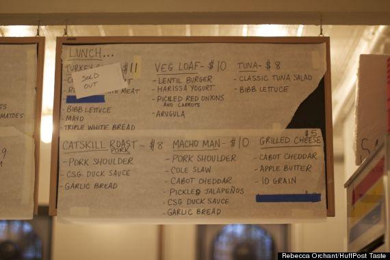 court street sandwich board