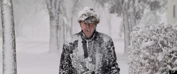 CALGARY SNOWSTORM