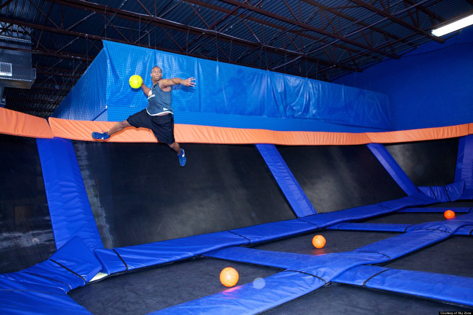 Ultimate Trampoline Dodgeball Has Its First National