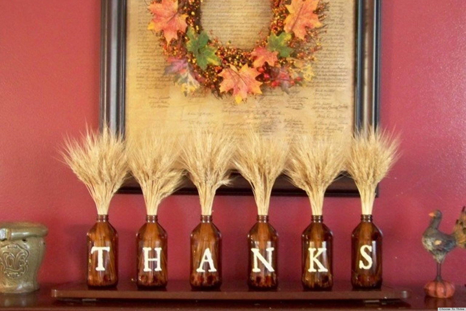 Thanksgiving Decoration Ideas thanksgiving crafts: easy decoration idea that's hot on pinterest