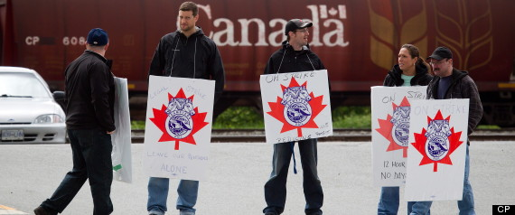 CP RAIL UNION CONTRACT STEEKWORKERS