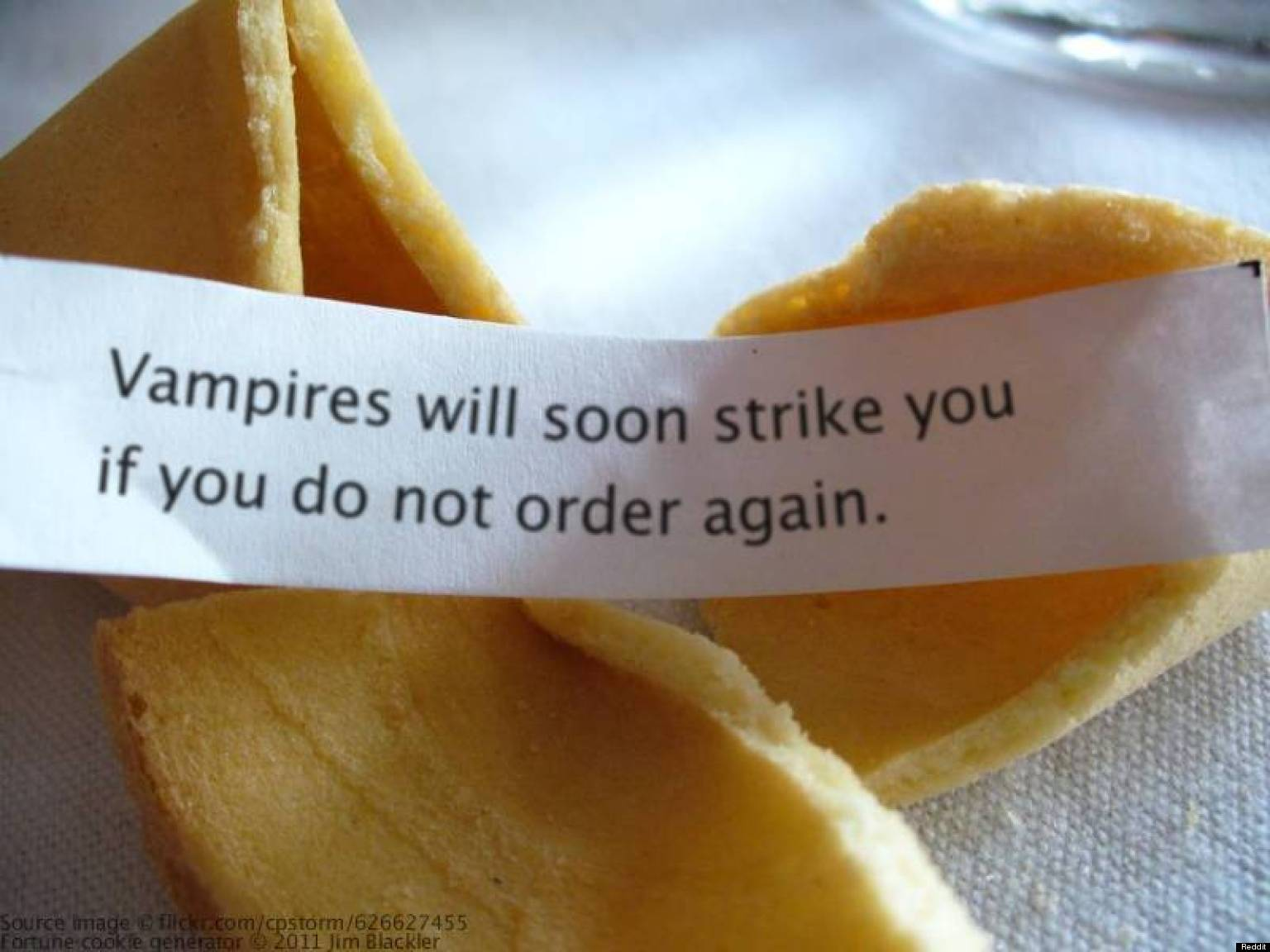 Where do Chinese fortune cookies come from
