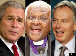 Desmond Tutu Bush Blair