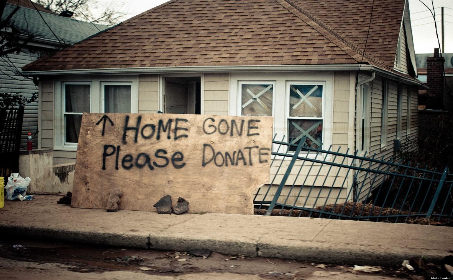 Hurricane Sandy Damage Amplified By Breakneck Development Of Coast