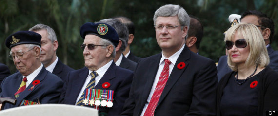 STEPHEN HARPER REMEMBRANCE DAY 2012