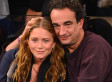 Mary Kate Olsen & Olivier Sarkozy Get Cozy At A Knicks Game (PHOTOS)