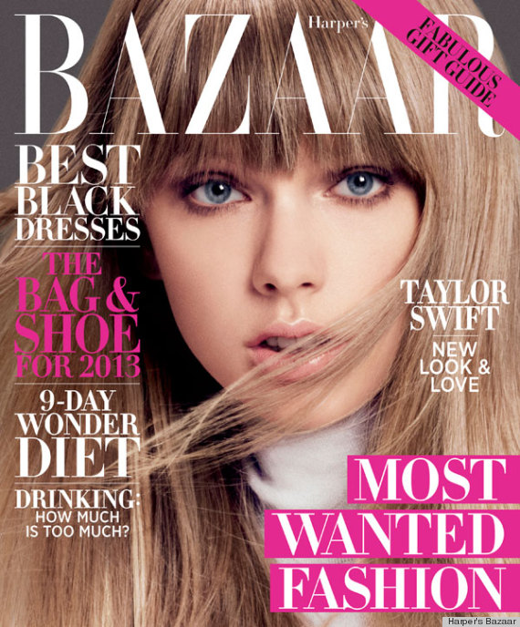 taylor swift harpers bazaar
