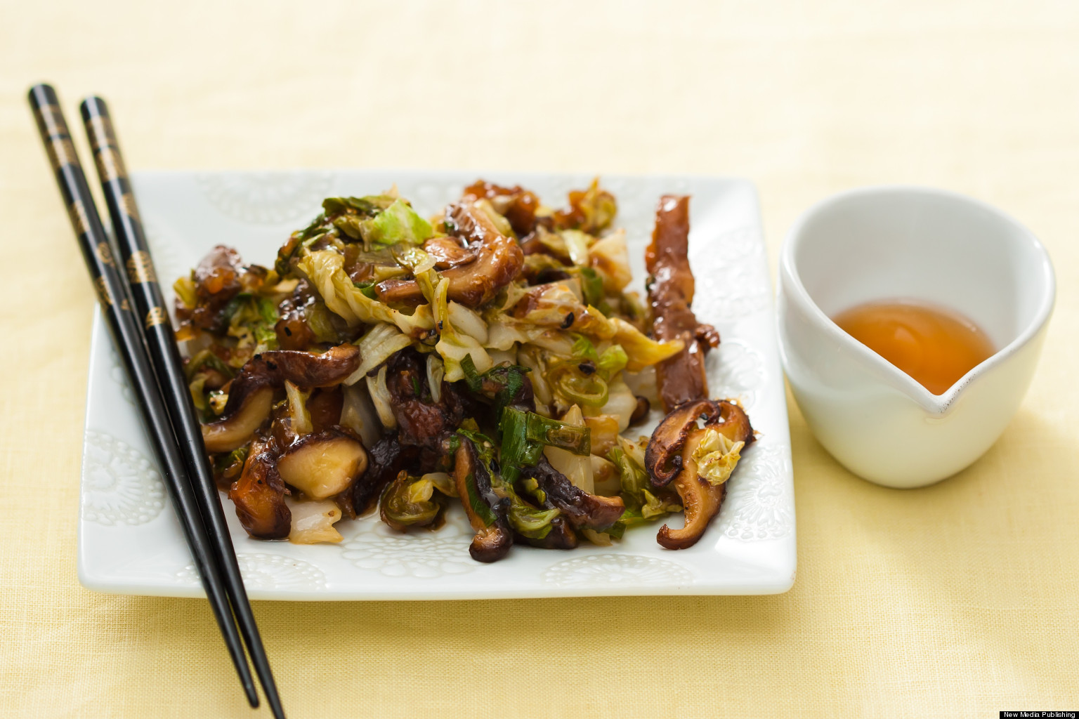 asparagus asparagus shiitake tofu stir sesame seeds black and stir fry ...