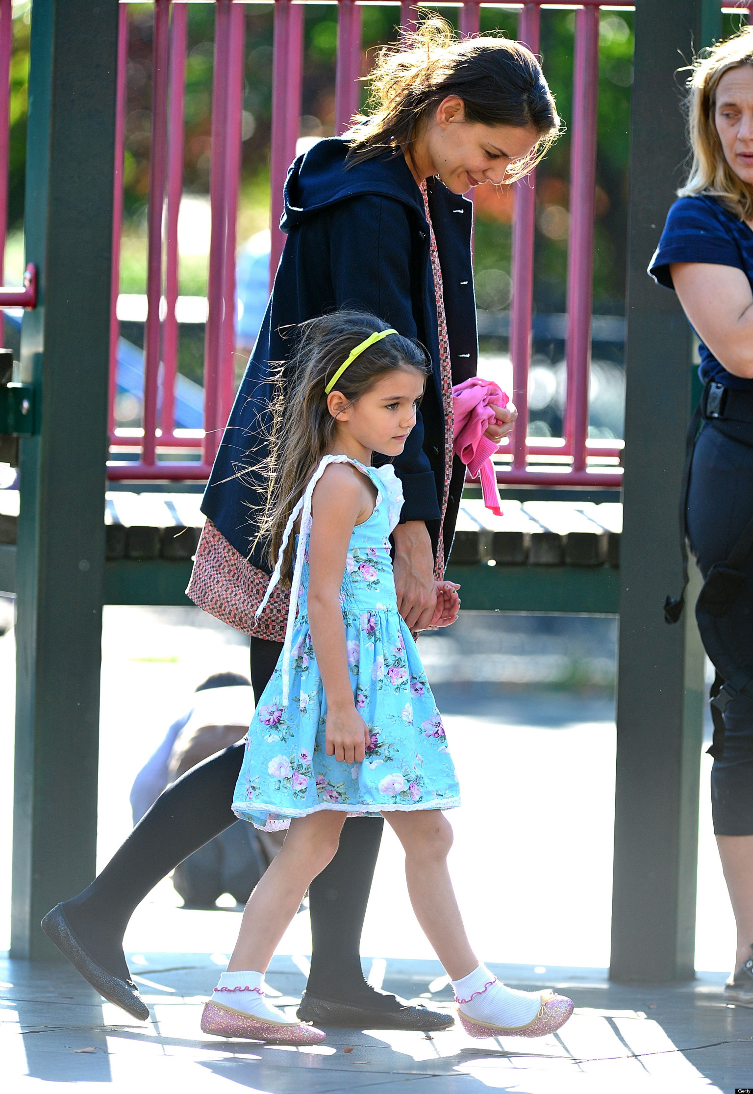 Suri Cruise School, Avenues, Slows New York Traffic With