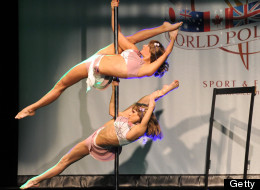 Russians, Ukranians Dominate World Pole Dancing Championship