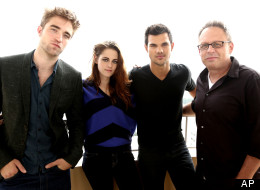 Kristen Stewart  on Robert Pattinson  Kristen Stewart  Taylor Lautner And Bill Condon  The