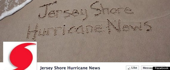 Jersey Shore Hurricane News: New Jersey Facebook Page Becomes Lifeline During Sandy