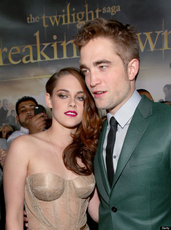 kristen stewart robert pattinson getty