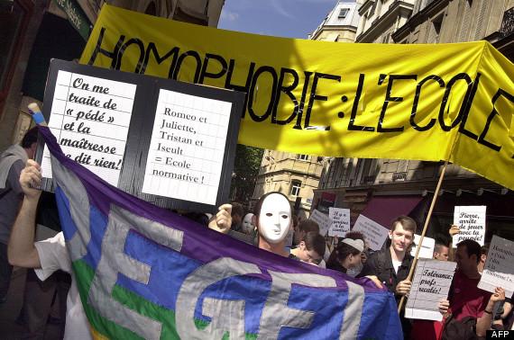 homophobie ecole
