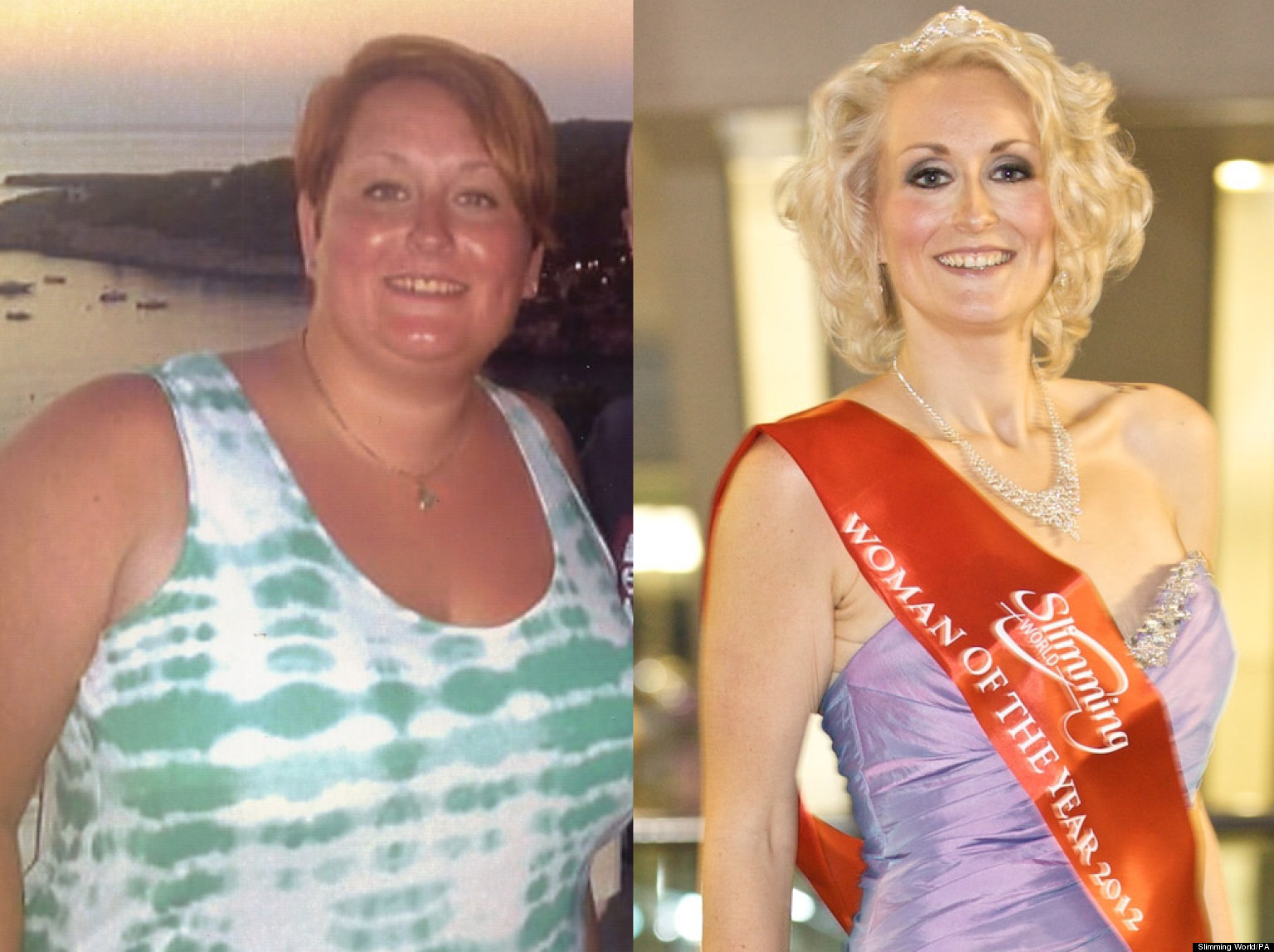 Slimming World Winner 21 Stone Mum Loses Half Her Body
